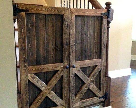 Diy Gate Barn Door Baby Clever Stylish