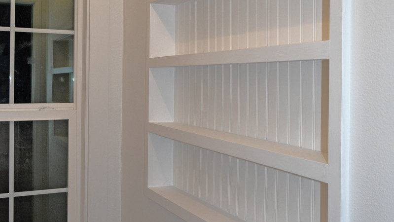 Diy Guy Projects Built Wall Shelving