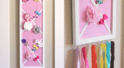 Diy Hair Bow Holder Message Board Repeat Crafter