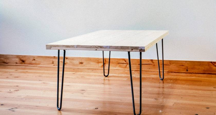 Diy Hairpin Dining Table Our Finished