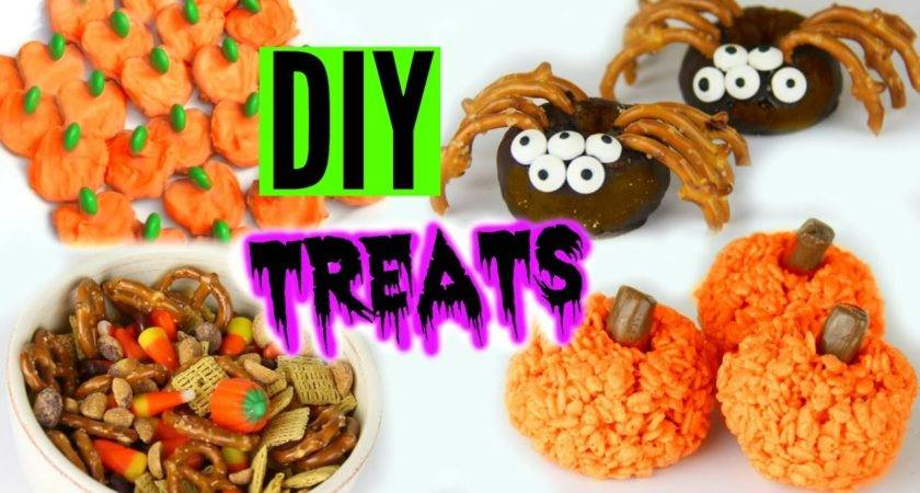 Diy Halloween Treats Yummy Pinterest Inspired
