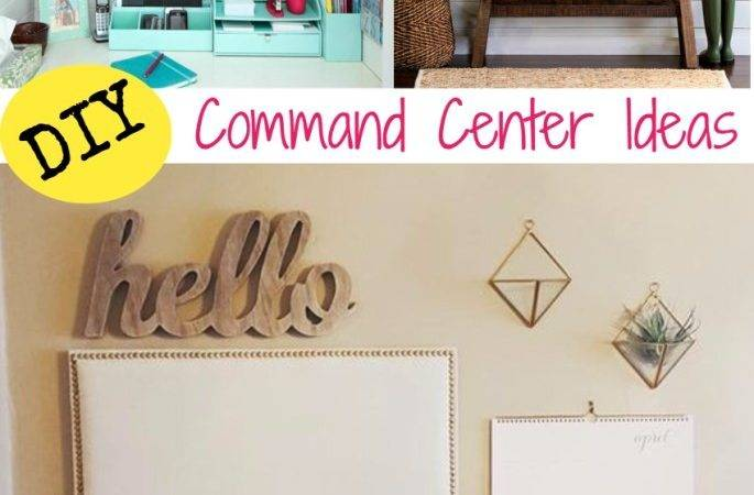 Diy Home Command Centers Organize Your Life