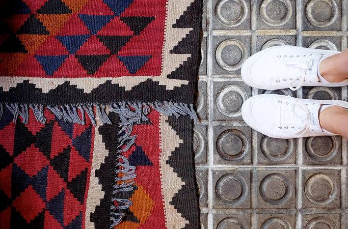 Diy Inspiration Layered Area Rugs Pair Spare