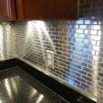 Diy Install Care Metal Tile Backsplash Interior