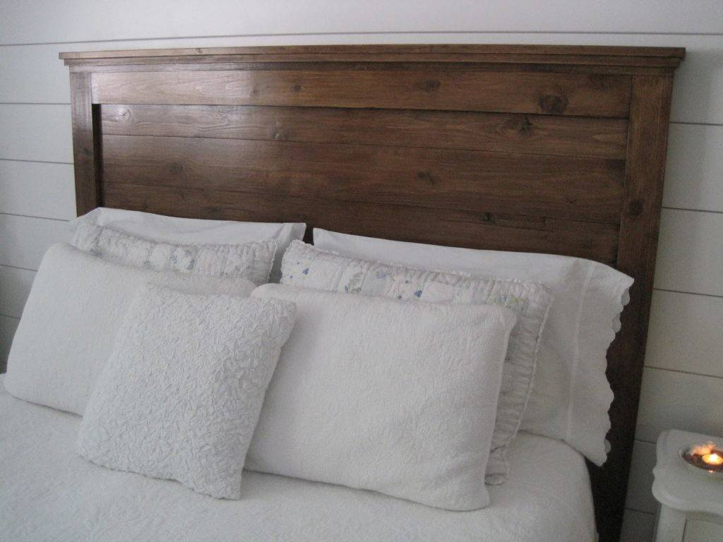 Picture of: Diy King Headboard Ideas Including Wood Headboards Gabe Jenny Homes