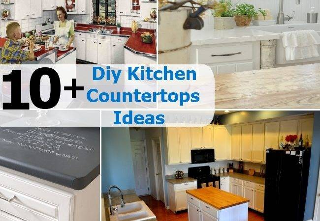 Diy Kitchen Countertops Ideas Home Things