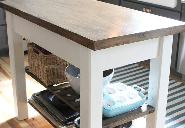 Diy Kitchen Islands Every Budget Ability
