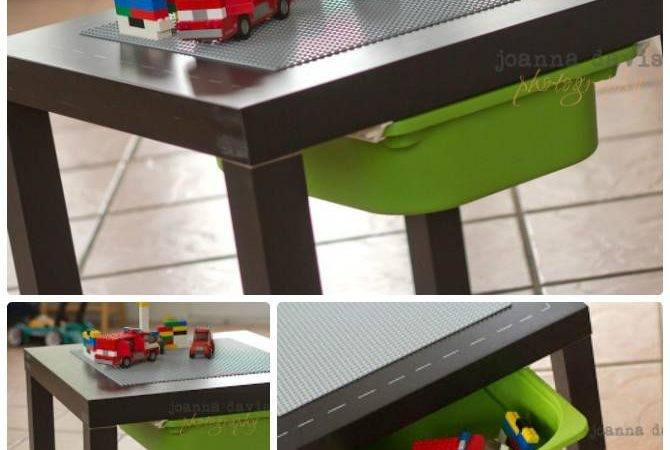 Diy Lego Table Projects Instructions
