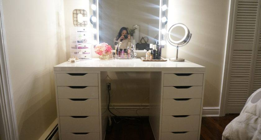 Diy Makeup Vanity Made Style