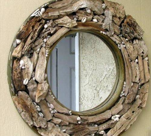 Diy Mirror Frames Craft Projects