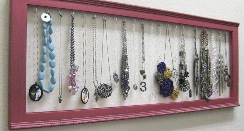 Diy Necklace Holder Ideas Can Try Make