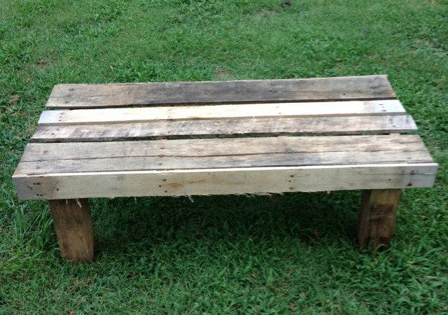Diy Outdoor Pallet Bench
