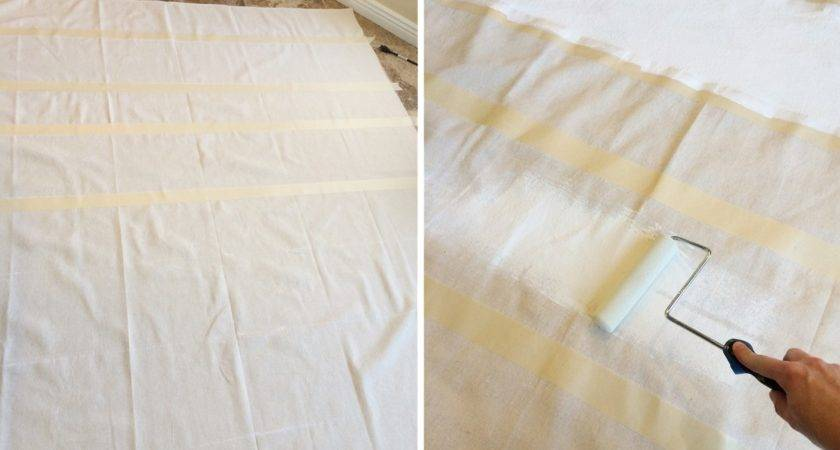 Diy Painted Drop Cloth Curtains Find Make Love
