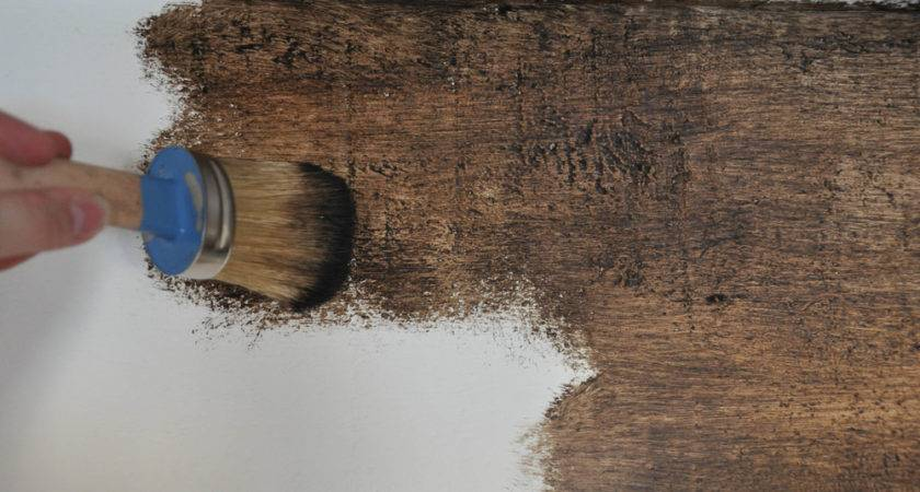 Diy Painted Faux Wood Ceiling Beams Copper Anchor
