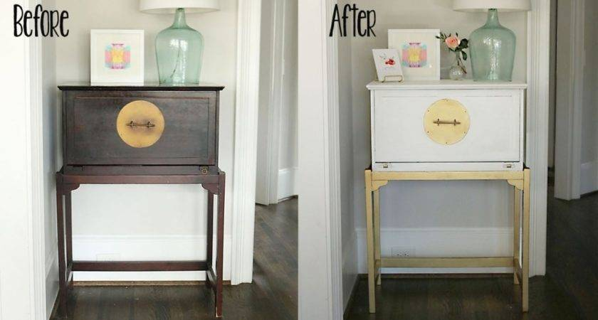 Diy Painted White Gold Furniture Amy Howard Home