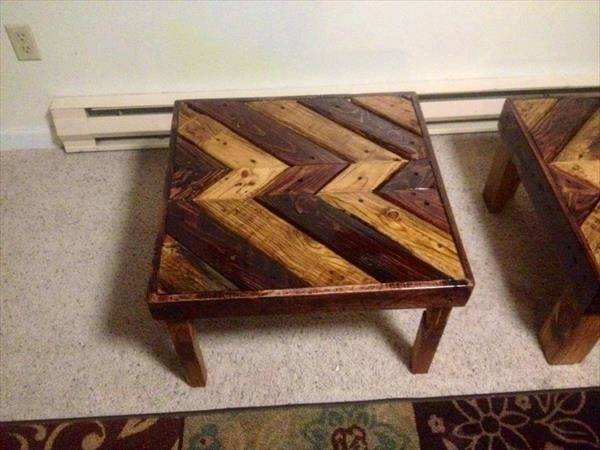 Diy Pallet Coffee Table End Furniture Plans