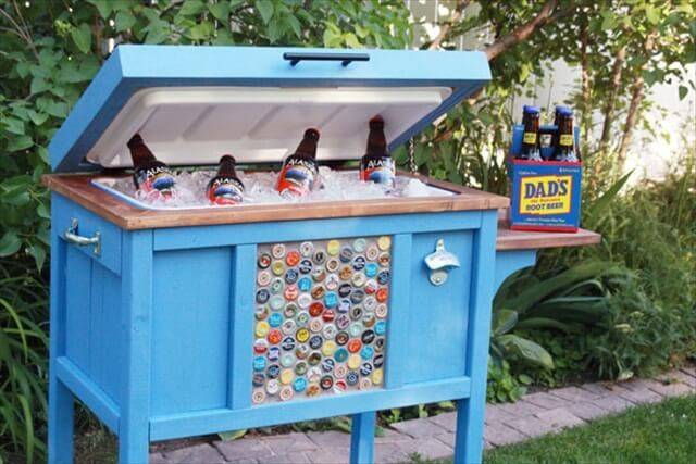 Diy Pallet Cooler Design Make