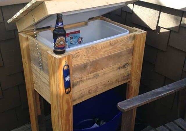 Diy Pallet Cooler Ideas Make