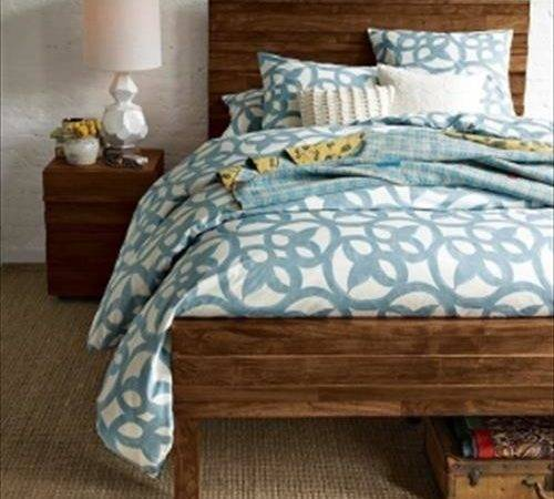Diy Pallet Headboard Footboard Pallets Designs