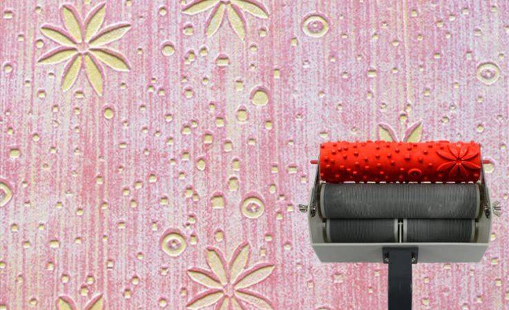 Diy Pattern Painting Roller Home Wall Decoration