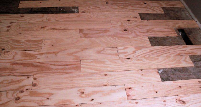 Diy Plywood Plank Flooring Truths Blessed Life