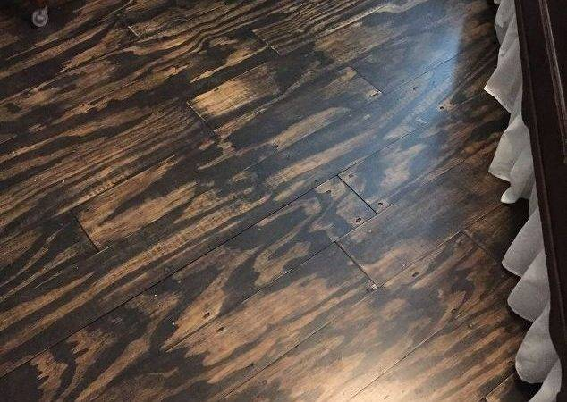 Diy Plywood Plank Floors Hometalk