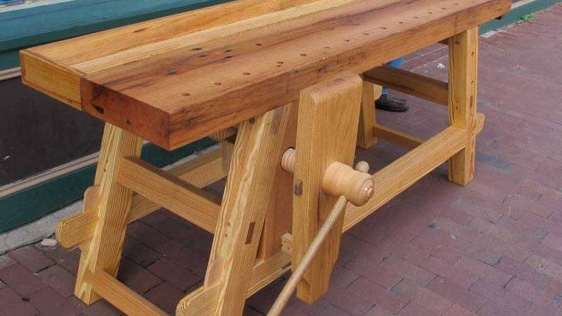 Diy Portable Folding Workbench Plans Outdoor