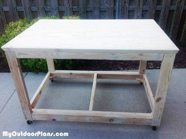 Diy Portable Workbench Myoutdoorplans Woodworking