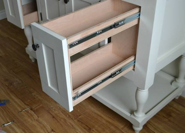 Diy Pull Out Shelves Kitchen Cabinets Roselawnlutheran