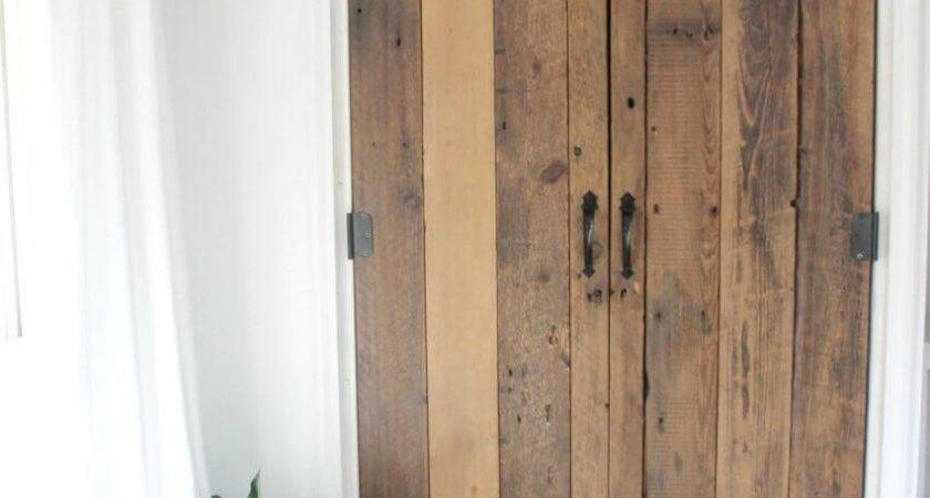 Diy Reclaimed Wood Closet Doors Definery