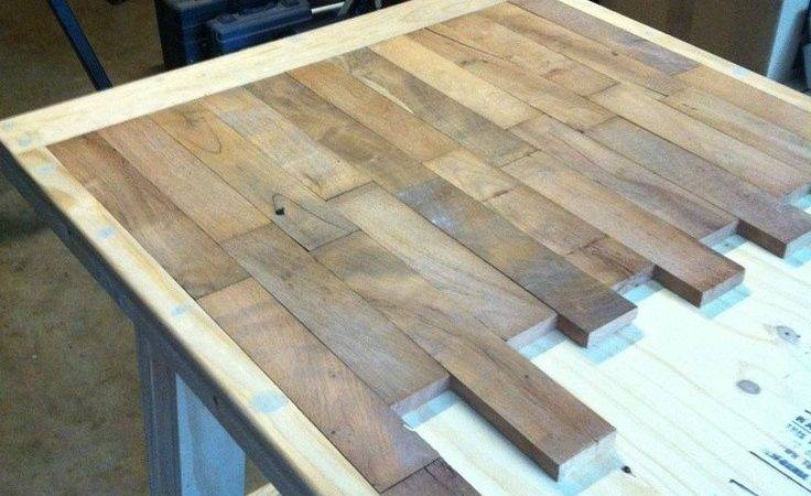 Diy Reclaimed Wood Table Top Quick Woodworking Projects