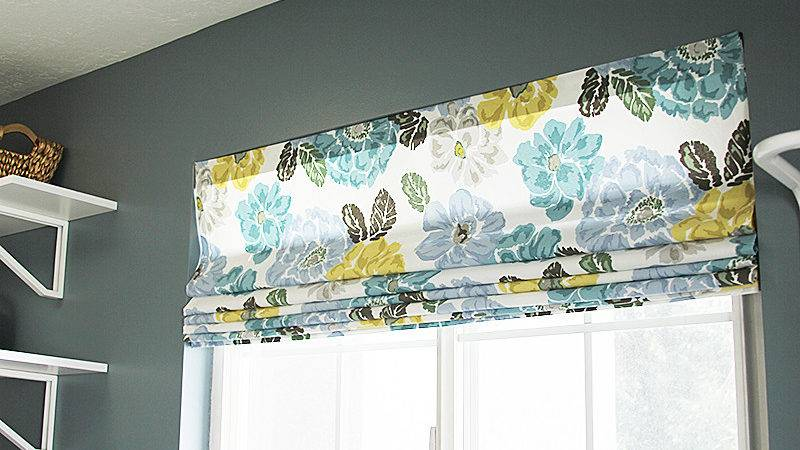 Diy Roman Shades Blinds Video Withheart