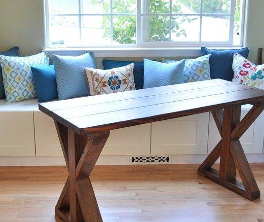 Diy Rustic Base Console Table Chronicles Home