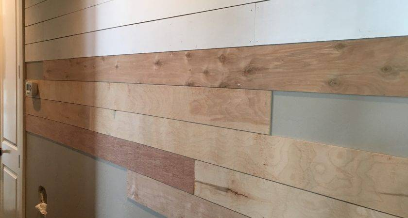 Diy Shiplap Wall Easy Cheap Beautiful Part One