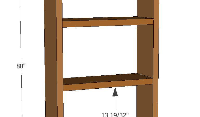 Diy Simple Bookshelf Plans
