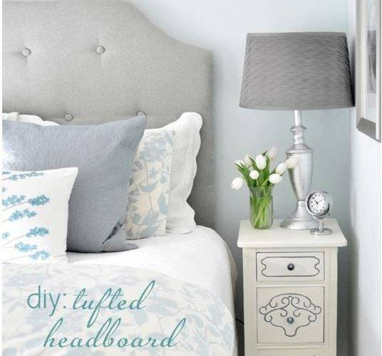 Diy Simple Tufted Headboard Centsational Style