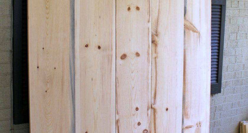 Diy Sliding Barn Door Plans Exterior
