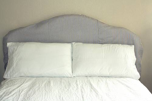 Diy Slipcovered Headboard