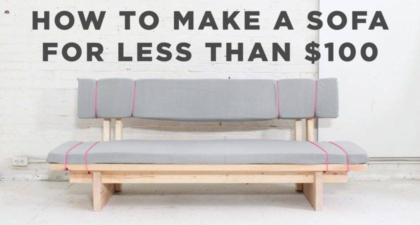 Diy Sofa Make Sew Under Doovi