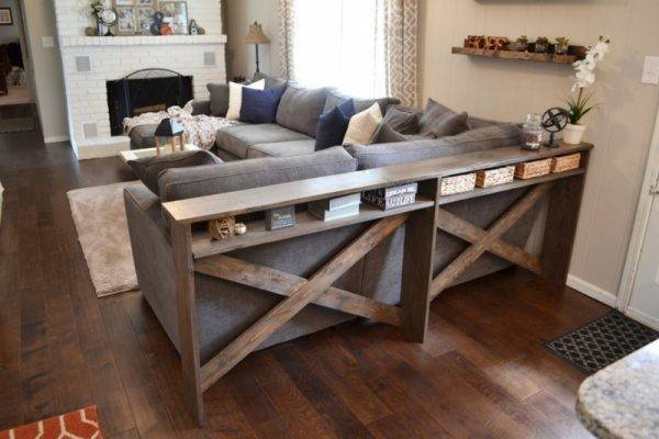 Diy Sofa Tables Dress Back Couch Dig