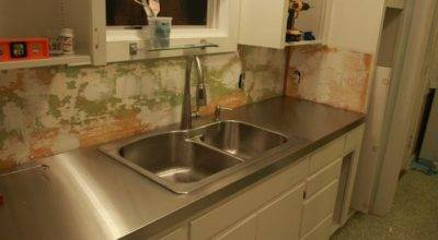 Diy Stainless Steel Countertop Linn Installs