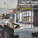 Diy Stainless Steel Countertops Easy Follow Guide