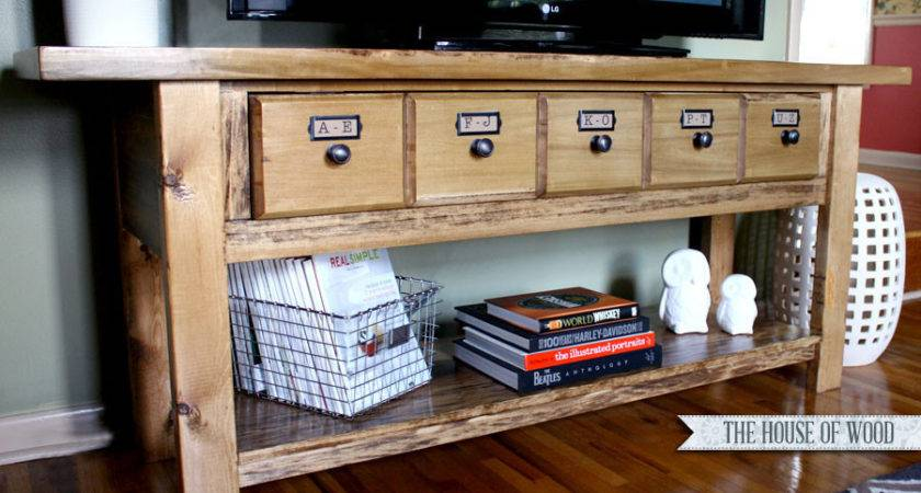 Diy Stands Can Build Easily Weekend Home