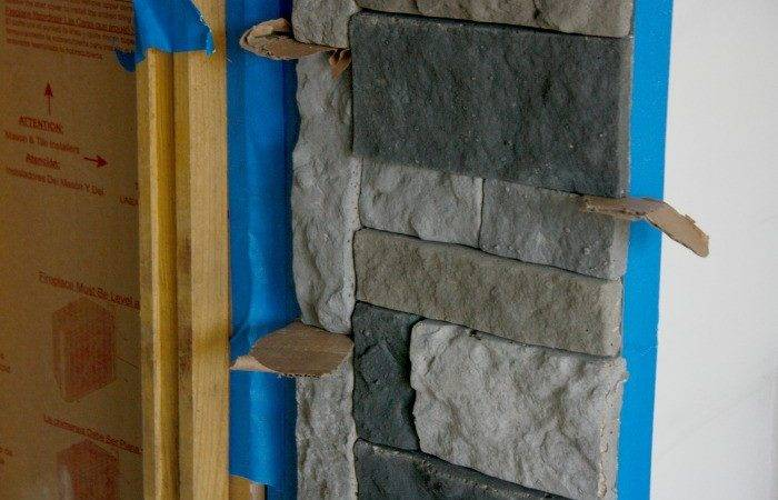 Diy Stone Fireplace Airstone Binkies Briefcases