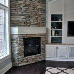Diy Stone Fireplace Reveal Real Evolution Style