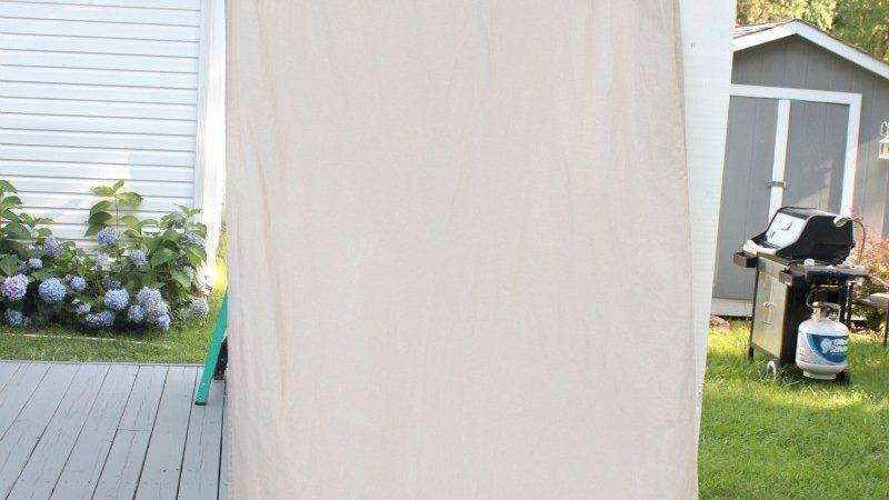 Diy Striped Outdoor Curtains Home Depot Giveaway