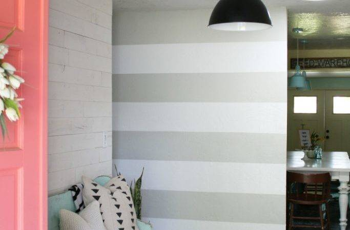 Diy Striped Walls Roundup Lolly Jane