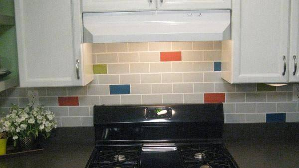 Diy Subway Tile Backsplash Knock Off Live Well