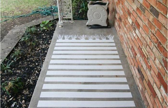 Diy Try Painted Front Porch Floor Ohoh Blog