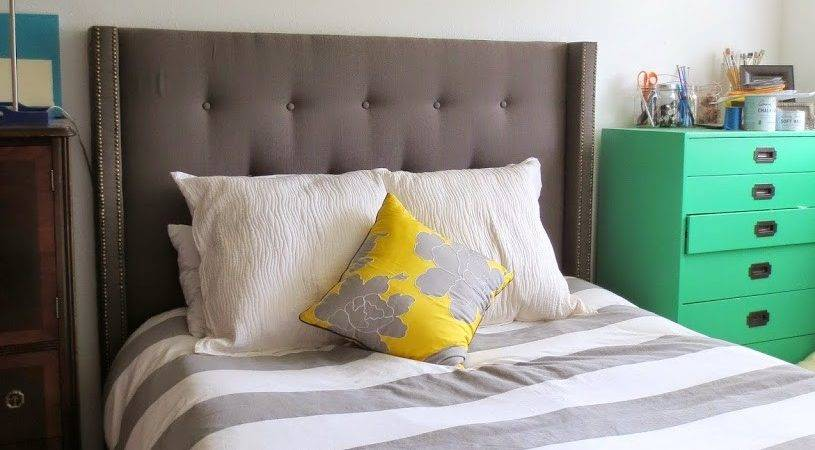 Diy Tufted Headboard Kane Five